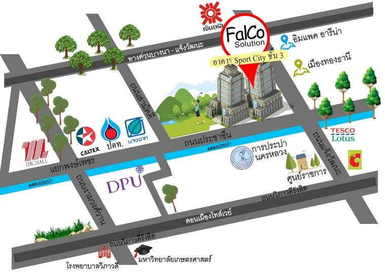 FalCo Solution - Office MAP